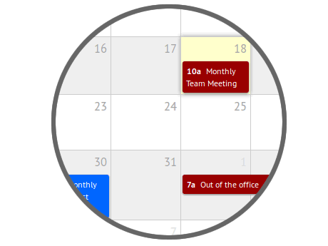 cloud based calendar app, appointments, email reminders, reminder notifications, remember events, share files, meetings